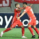 Festejo Americano ante Jaguares 2-0
