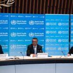 El director general de la Organización Mundial de la Salud, Tedros Adhanom Ghebreyesus, comparece en rueda de prensa para informar sobre la evolución de la pandemia de coronavirus.OMS / Europa Press