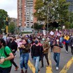 Marchas en Bogota