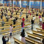 Culto en la Iglesia Ministerial de Jesucristo Internacional