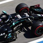 El piloto de Mercedes, Lewis Hamilton,