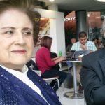 En una de sus últimas visitas a Manizales, la exgobernadora Dilia Estrada se reunió con el exsenador y presidente del Directorio Nacional Conservador, Omar Yepes Álzate, en la Victoria del centro comercial de Sancancio, en Palermo.
