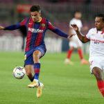 Barcelona y Sevilla terminaron empatados en la quinta jornada de LaLiga española