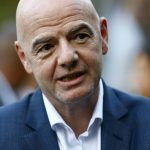 El presidente de la FIFA, Gianni Infantino, en la sede del organismo del fútbol mundial en Zúrich, Suiza. REUTERS/Arnd Wiegmann