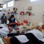 Pacientes de COVID-19 descansando en sus camas en una Unidad de Cuidados Intensivos (UCI) en el Hospital Dr. Alberto Antranik Eurnekian, en Buenos Aires. REUTERS/Agustin Marcarian/Archivo