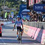 El británico Alex Dowsett se quedó con la victoria en la octava etapa del Giro de Italia Foto Massimo Paolone/LaPresse