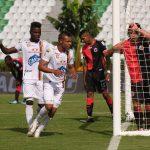 Luis Miranda de Deportes Tolima, celebra despues de anotar gol de su equipo, durante partido de la fecha 13 entre Cúcuta Deportivo y Deportes Tolima, por la Liga BetPlay DIMAYOR 2020 Foto VizzorImage / Juan Jose Horta / Cont.