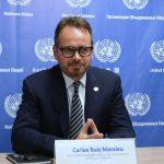 Carlos Ruiz Massieu, representante especial del secretario general y jefe de la misión de verificación de las naciones unidas en Colombia