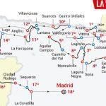 Recorrido de la Vuelta a españa