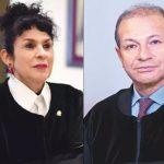 Magistrados Julia Emma Garzón y Pedo Alonso Sanabria