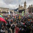 Lleno total en la Plaza de Bolívar enBogotá en marcha del 21 de Octubre
