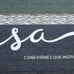 El logo de ISA en su sede principal de la ciudad de Medellín REUTERS/Luis Jaime Acosta