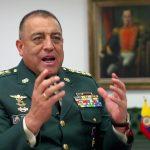 General Luis Fernando Navarro,comandante de las fuerzas Armadas