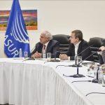 Reunión de representantes de la Unión de Naciones Suramericanas (Unasur) con el Gobierno y la oposición venezolana, el 30 de octubre de 2016. (Carlos Becerra - Agencia Anadolu)