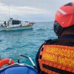 Guardacostas de la armada nacional vigila paso huracán eta. Foto: Suministrada