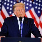 El presidente de EEUU, Donald Trump, habla sobre las elecciones en la Sala Este de la Casa Blanca, en Washington, EEUU. 4 noviembre 2020. REUTERS/Carlos Barria