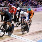 Campeonato Mundial de Ciclismo en Pista de la UCI 2020. Semifinales del Keirin masculino en Berlín, Alemania. 27 de febrero de 2020.REUTERS/Kacper Pempel/File Photo