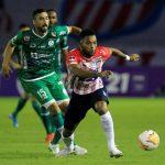Junior empató 0-0 ante Plaza Colonia y avanzó a octavos de final de la Copa Sudamericana. Foto EL HERALDO