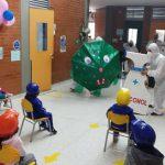 Niños de regreso al Colegio en Bogotá Secretaría Distrital de Integración Social
