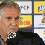 Carlos Queiroz, director técnico de la Selección Colombia, tuvo su primer contacto con la prensa