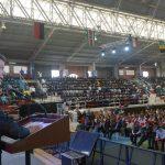Foto: Javier Casella - SIG El Presidente Santos participó este miércoles en el acto de entrega de 13.000 tabletas digitales del programa Computadores para Educar en Soacha, Cundinamarca. Los estudiantes de esta localidad quedaron en igualdad de condiciones para aprender que los de cualquier gran ciudad del mundo, por medio de Internet, sostuvo el Jefe de Estado.