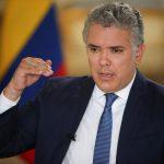 El presidente de Colombia, Iván Duque, habla durante una entrevista con Reuters en Bogotá REUTERS/Luisa González