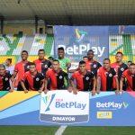 Jugadores de Cúcuta posan para la foto VizzorImage / Ricardo Vejarano / Cont