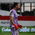Sebastián Viera de Atlético Junior celebra el gol de su equipo a Jaguares de Córdoba F.C., durante partido entre Jaguares F. C. y Atlético Junior de la fecha 19 por la Liga BetPlay DIMAYOR 2020, en el estadio Jaraguay de Monteria Foto VizzorImage / Andrés López  / Cont.