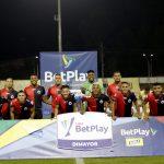 Jugadores del Cúcuta Deportivo Foto VizzorImage / Juan Augusto Cardona / Cont