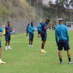 Selección Ecuatoriana en entrenamiento