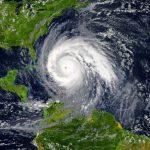 Ojo del huracán IOTA