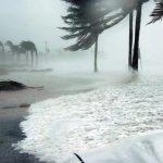 Huracan Iota en san Andres y Providencia