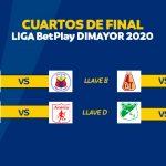 FIXTURE DE LA LIGA BETPLAY DIMAYOR 2020A
