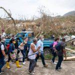 El presidente Iván Duque visitó la isla y constató la destrucción del 99% de la infraestructura Cortesia: Presidencia