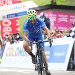 Yeison Rincón (Supergiros) ganó la sexta etapa de la Vuelta Colombia en su edición 2020