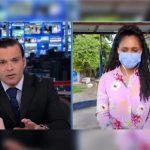 Juan Diego Alvira y Vilma Jay. Foto: captura de pantalla video Noticias Caracol