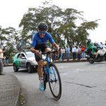Óscar Sevilla voló y se llevó la cronoescalada de la séptima etapa de la Vuelta a Colombia