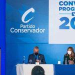 Presidente Iván Duque a Álvaro Gómez Hurtado,en con vención del partido Conservador