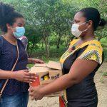 apoyo humanitario fue distribuido en Tierra Baja y Puerto Bello