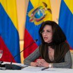 Canciller Claudia Blum participó en el Encuentro Presidencial y IX Gabinete Binacional Ecuador–Colombia