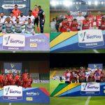 Semifinalistas Equidad,Santa Fe.América y Junior de la Liga BetPlay Dimayor 2020