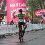 Oscar Quiroz del equipo Colombia Tierra de Atletas se impuso en la tercera etapa del Clásico RCN Cerveza Andina, que se disputó entre Ibagué y Buga sobre 196.4 Km de recorrido.
