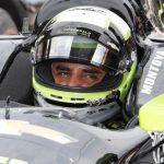 Juan Pablo Montoya durante las prácticas para las 500 Millas de Indianápolis, Foto Brian Spurlock-USA TODAY Sports