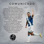 Defensor colombiano Brayan Angulo al puebla de México