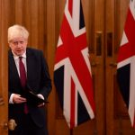 El premier británico Boris Johnson