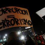 Una protesta contra los supuestos lazos del fiscal general con el escándalo de Odebrecht en Bogotá, Colombia. 29 enero 2019. REUTERS/Luisa González