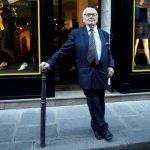 El diseñador francés Pierre Cardin en París. REUTERS / Charles Platiau