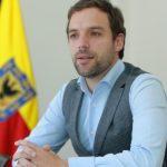El alcalde encargado de Bogotá, Luis Ernesto Gómez