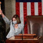 Nancy Pelosi es reelegida como presidenta de la Cámara de Representantes de Estados Unidos-REUTERS