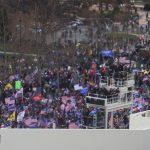Manifestantes pro-Trump protestan afuera del Capitolio, en Washington DC, EEUU. 6 de enero de 2021. REUTERS/Jonathan Ernst